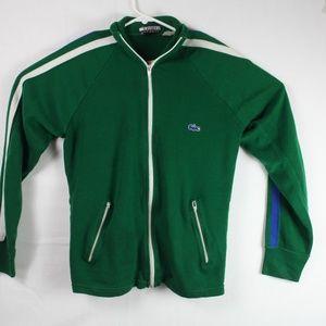 Vintage Izod Lacoste Collared Zip Up Sweater M
